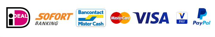 online betalen ideal paypal bancontact sofort